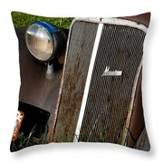 Rusted Master Throw Pillow