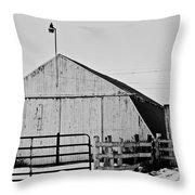 Rustic Barn 2 - 2 Throw Pillow