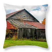 Rustic Charm Throw Pillow