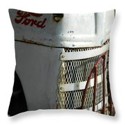 Rustic Ford Work Horse Throw Pillow
