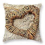 Rustic Love Throw Pillow