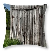 Rustic Old Barn Throw Pillow