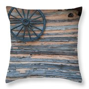 Rustic Ornamentation - Yates Mill Pond Throw Pillow