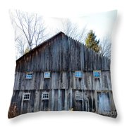 Rustic Places Throw Pillow