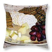 Rustic Repast Throw Pillow