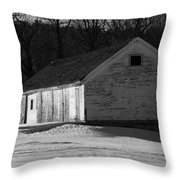 Rustic Shack 2 Throw Pillow