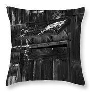 Rustic Shed 3 Throw Pillow