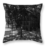 Rustic Shed 8 Throw Pillow