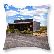 Rustic Store Throw Pillow