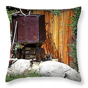 Rustic Times Throw Pillow