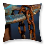 Rusty 2 Throw Pillow