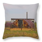 Rusty And Dusty Throw Pillow