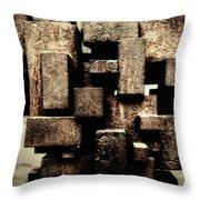 Rusty Art Throw Pillow
