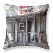 Rusty Metal Architecture Throw Pillow