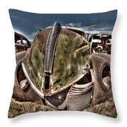 Rusty Old American Dreams - 2 Throw Pillow