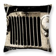 Rusty Relic - The Forgotten 02 Throw Pillow