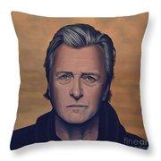 Rutger Hauer Throw Pillow