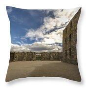 Ruthven Barracks - 5 Throw Pillow
