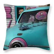 Rv Park Throw Pillow