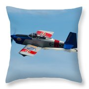 Rv8tors Flyby Wave Throw Pillow