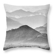 Rwanda Hills Throw Pillow
