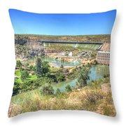 Ryan Dam State Park Throw Pillow