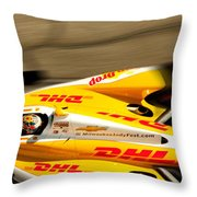 Ryan Hunter-reay Throw Pillow by Denise Dube