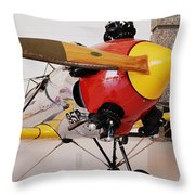 Ryan Pt-22 Recruit Throw Pillow by Michelle Calkins