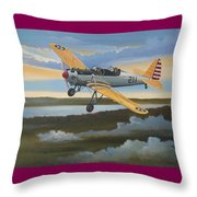 Ryan Pt-22 Recruit Throw Pillow