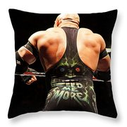 Ryback Feed Me More Throw Pillow
