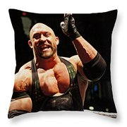 Ryback Victory Throw Pillow