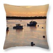 Rye Harbor Throw Pillow