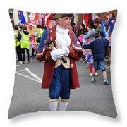 Rye Town Crier Throw Pillow