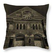 Ryman Auditorium Throw Pillow by Dan Sproul