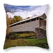 Ryot Covered Bridge Throw Pillow