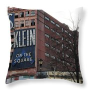 S Klien On The Square Throw Pillow