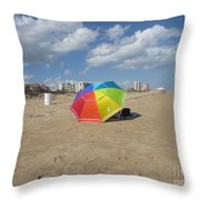 Sa Place Au Soleil / One's Place In The Sun Throw Pillow