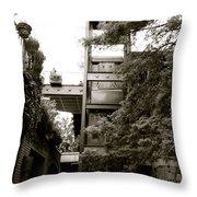 Sa River Walk 007-13 Throw Pillow