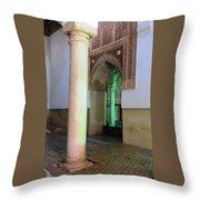 Saadian Tomb 3 Throw Pillow