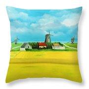 Saaremaa Island Estonia Throw Pillow