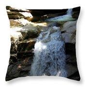 Sabbaday Falls New Hampshire Throw Pillow