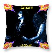 Sabbath In Spokane 1 Throw Pillow