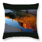 Sabino Canyon Reflection Throw Pillow