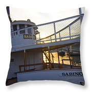 Sabino Sunset Throw Pillow