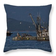 Sable Lady Throw Pillow