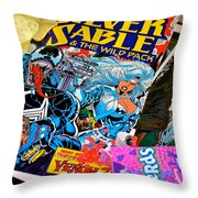 Sable Throw Pillow