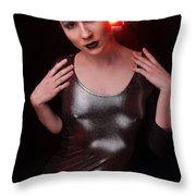 Sabrina14 Throw Pillow by Yhun Suarez