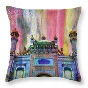 Sachal Sarmast Tomb Throw Pillow