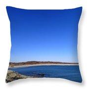Sachusett Beach 4 Throw Pillow