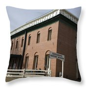 Sacramento History Museum Throw Pillow